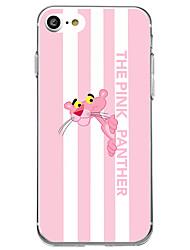 economico -Custodia Per Apple iPhone 7 iPhone 7 Plus Fantasia/disegno Custodia posteriore Cartoni animati Morbido TPU per iPhone X iPhone 8 Plus
