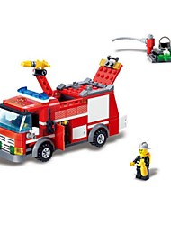 Building Blocks Fire Engine Vehicle Toys Vehicles Boys Boys' 206 Pieces