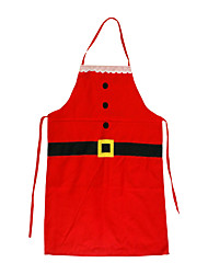 cheap -Santa Suit Holiday Jewelry Red Polyester Cosplay Accessories Christmas