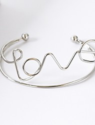 cheap -Women's Cuff Bracelet - Natural Gold Silver Bracelet For Daily Casual