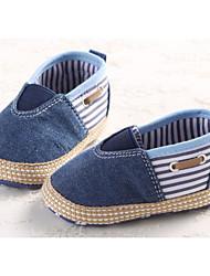 Para Meninos sapatos Algodão Primavera Outono Conforto Primeiros Passos Tênis Para Casual Vermelho Azul
