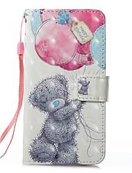 preiswerte -Hülle Für Apple iPhone X iPhone 8 Kreditkartenfächer Geldbeutel mit Halterung Ganzkörper-Gehäuse Tier Hart PU-Leder für iPhone 8 Plus