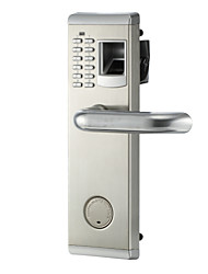 cheap -902 Biometric Fingerprint and Password Lock Security Door Lock for Home or Office Waterproof