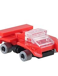 Недорогие -Конструкторы 17pcs Классика Новый дизайн Автомобиль SPIDER Non Toxic Транспорт Армия Гоночная машинка Мальчики Игрушки Подарок