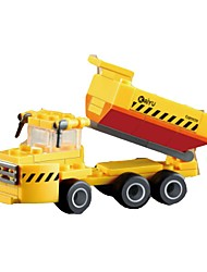 cheap -Building Blocks Construction Vehicle Toys Excavating Machinery Kids 1 Pieces