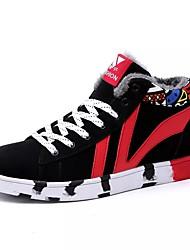 economico -Da uomo Scarpe Scamosciato Primavera Autunno Suole leggere Sneakers Lacci Per Casual Bianco/nero Nero/Rosso White/Blue
