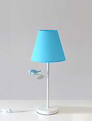 cheap -Modern/Contemporary Table Lamp For Metal 110-120V 220-240V Blue Dark Yellow Light gray