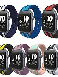 economico -fascia da orologio per orologio da mela 3 serie 1 2 cinturino sportivo di sostituzione del camuffamento in silicone con adattatore 38mm