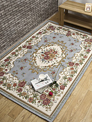 tappeto jacquard antisdrucciolevole in stile europeo e americano modello moderno per la camera da letto soggiorno attesa su una