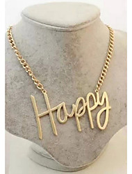 cheap -Women's Others Pendant Necklace  -  Regular Gold Necklace For Party Daily Casual