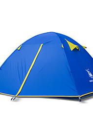 abordables -3 a 4 Personas Tienda Doble Carpa para camping Una Habitación Tiendas de Campaña para Senderismo Montañismo para Playa Camping /