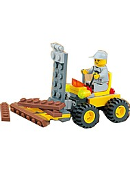 cheap -Building Blocks Forwarder Toys Excavating Machinery Kids 1 Pieces