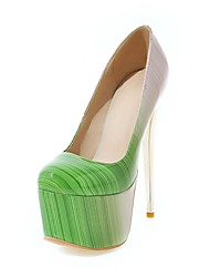 Women's Shoes Customized Materials Fall Comfort Novelty Heels Stiletto Heel Pointed Toe For Wedding Office & Career Blushing Pink Green