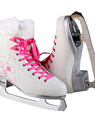 Недорогие -Жен. Девочки Коньки для фигурного катания Кожа ПВХ  Учебный Пригодно для носки Для новичков Активный отдых Розовый