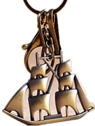 cheap -Key Chain Novelty Ship Zinc Alloy Unisex Gift