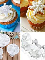 Cortadores para galletas Flor Pastel para la torta para la galleta para el caramelo Antiadherente Alta calidad No pegajoso Navidad