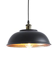 abordables -nueva Europa del norte industria vintage luces colgantes de metal comedor sala de estar cocina diámetro 33cm
