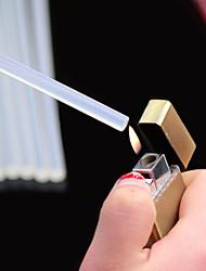 Недорогие -2шт нетоксичный прозрачный горячий клей клея клея супер липкий горячий клей клея хорошая прозрачность