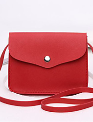 cheap -Women's Bags PU Crossbody Bag Pocket for Outdoor All Seasons Red Blushing Pink Almond