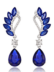 cheap -Women's Rhinestone Drop Earrings - Drop For Wedding Party