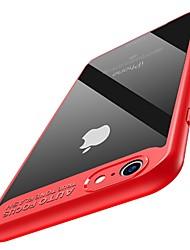 Hülle Für Apple iPhone X iPhone 8 iPhone 8 Plus Ultra dünn Rückseitenabdeckung Volltonfarbe Hart PC für iPhone X iPhone 8 Plus iPhone 8