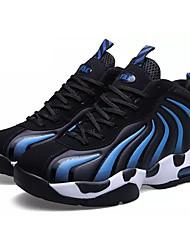 abordables -Homme Chaussures Automne Confort Chaussures d'Athlétisme Basketball Lacet pour Décontracté Noir Rouge Bleu Rose