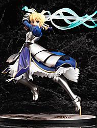 economico -Figure Anime Azione Ispirato da Fate / stay night Saber PVC 25 cm CM Giocattoli di modello Bambola giocattolo