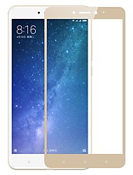 Недорогие -Защитная плёнка для экрана XIAOMI для Xiaomi Mi Max 2 Закаленное стекло 1 ед. Защитная пленка на всё устройство Защита от царапин