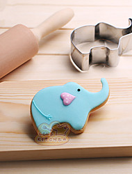 cheap -Cake Molds Elephant Cooking Utensils Stainless Steel Baking Tool