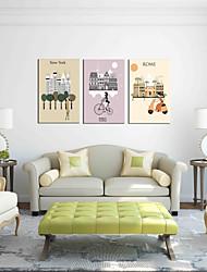 Недорогие -необходимый предмет искусства настенной живописи 3-х предметов современного искусства настенного искусства для украшения комнаты 20x28inchx3