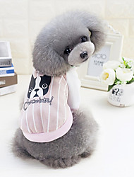 Dog Sweatshirt Dog Clothes Casual/Daily Cartoon Green Pink Light Blue Costume For Pets
