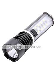 Lampes Torches LED 600 lm 3 Mode Cree Q5 pour Camping/Randonnée/Spéléologie Usage quotidien Cyclisme Chasse Pêche Non Noir