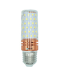 abordables -BRELONG® 1 pièce 16W 1300 lm E27 Ampoules Maïs LED 84 diodes électroluminescentes SMD 2835 Blanc Chaud Blanc Couleur double source