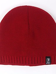 Men's Knitwear Sweater Ski Hat,Hat Print All Seasons Classic