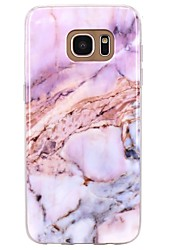 cheap -For Case Cover Pattern Back Cover Case Marble Soft TPU for Samsung Galaxy S8 Plus S8 S7 edge S7 S6 edge plus S6 edge S6 S6 Active S5 Mini