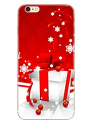 cheap -Case For Apple iPhone X iPhone 8 iPhone 8 Plus Pattern Back Cover Christmas Soft TPU for iPhone X iPhone 8 Plus iPhone 8 iPhone 7 Plus