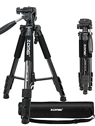 cheap -ZOMEI Q111 Portable Professional Light Weight Traveler Tripod with Pan Head for Camera DSLR DV Canon Nikon Sony Black