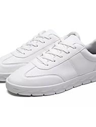 Da uomo Scarpe Cashmere Primavera Autunno Comoda Sneakers Lacci Per Casual Bianco Nero Grigio Rosso