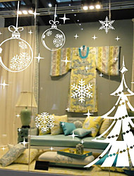 Christmas Wall Stickers Plane Wall Stickers Decorative Wall Stickers,Plastic Material Home Decoration Wall Decal