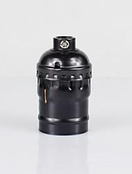 Недорогие -e26 черный алюминиевый корпус антикварный винт edison подвеска лампа нет переключатель лампа держатель