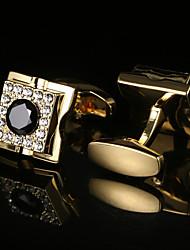 cheap -Cufflink Tie Bar Tie Clip  Fashion Gift Boxes & Bags Cufflinks Men's