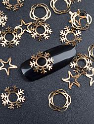20 Decoración de uñas Las perlas de diamantes de imitación maquillaje cosmético Dise?o de manicura
