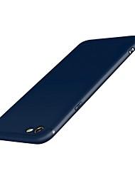 abordables -Funda Para iPhone 7 Apple iPhone 7 Congelada Funda Trasera Color sólido Suave Silicona para iPhone 7