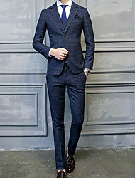 cheap -Men's Casual/Daily Casual Winter Fall Suit