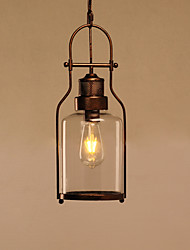 cheap -MAX60W Pendant Light ,  Modern/Contemporary Others Feature for Mini Style / Designers MetalLiving Room / Bedroom