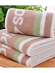 Свежий стиль Полотенца для мытья,В полоску Высшее качество Чистый хлопок Полотенце