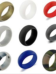 i monili classici del cerchio del silicone di stile semplice delle donne degli uomini per l'impegno di cerimonia nuziale