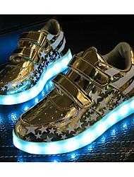 Garçon Chaussures Similicuir Automne Hiver Confort Basket Pour Décontracté Or Argent