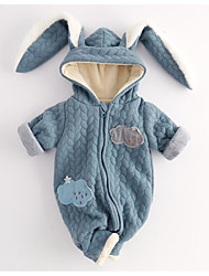 Baby Animal One-Pieces,100%Cotton Winter Fall Blue Blushing Pink