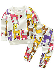 Baby Boys' Daily Animal Clothing Set,Cartoon Spring/Fall